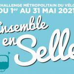 Rejoignez l'équipe «Les madeleinois à vélo» pour le challenge métropolitain à vélo le 1er mai
